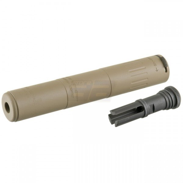 AAC SPR-M4 Deluxe Silencer - Dark Earth