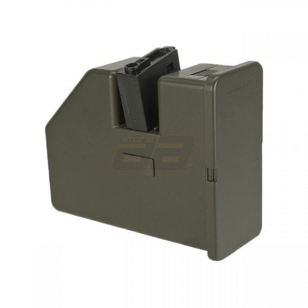 KRYTAC Trident LMG 3500rds Electric Winding Box Magazine