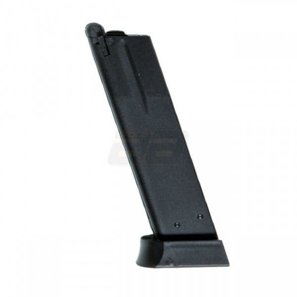 KJ Works CZ SP-01 26BBs Shadow Gas Blow Back Pistol Magazine