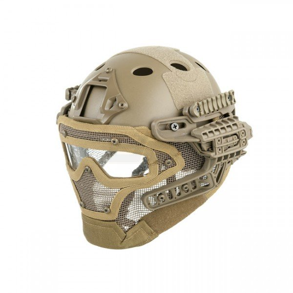Tactical Mask & Helmet - Coyote