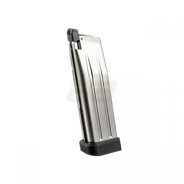 Armorer Works 5.1 Hi-Capa 30rds Gas Magazine - Silver