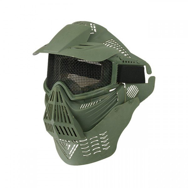 Commander Full Face Mask - Olive