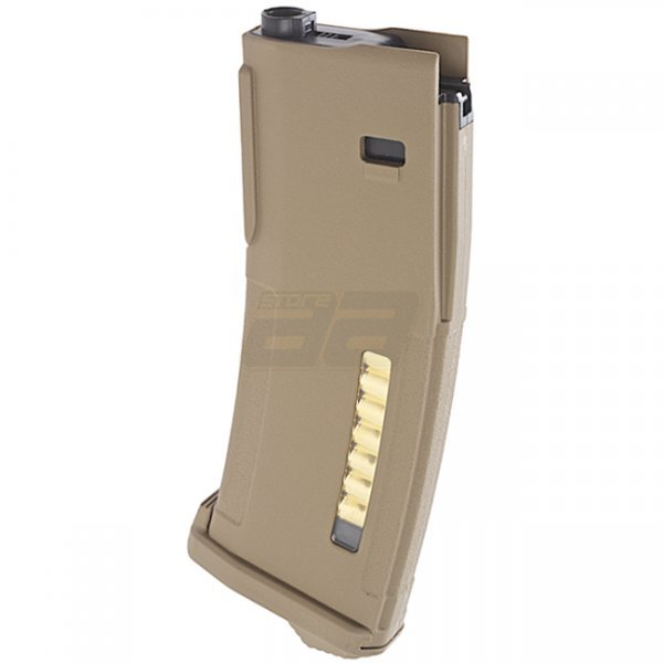 PTS EPM Marui M4 / SCAR Next Gen AEG 30/120rds Enhanced Polymer Magazine - Dark Earth
