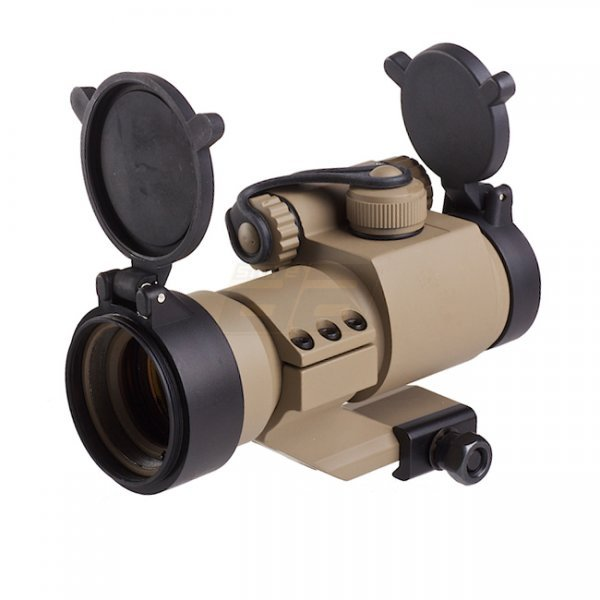 Aim-O M2 Red Dot Sight & Cantilever Mount - Dark Earth