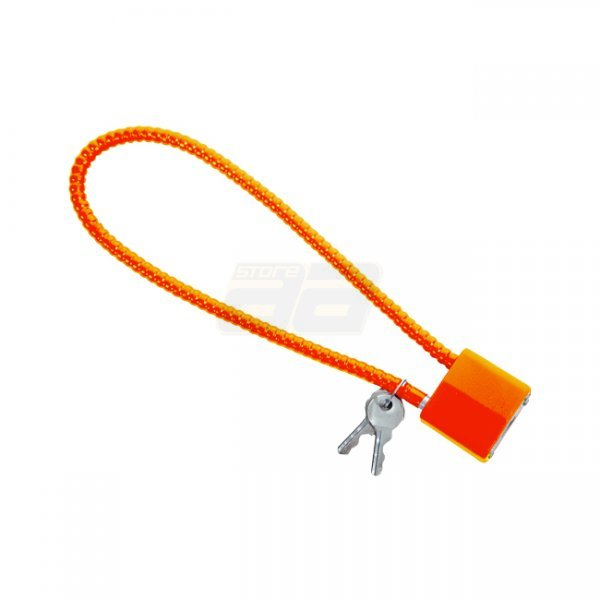 Firearm Cable Lock - Orange
