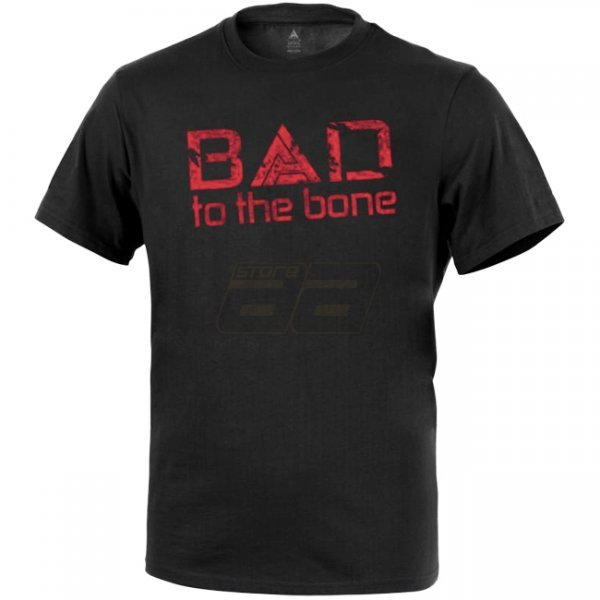 Direct Action T-Shirt Bad to the Bone - Black 2XL