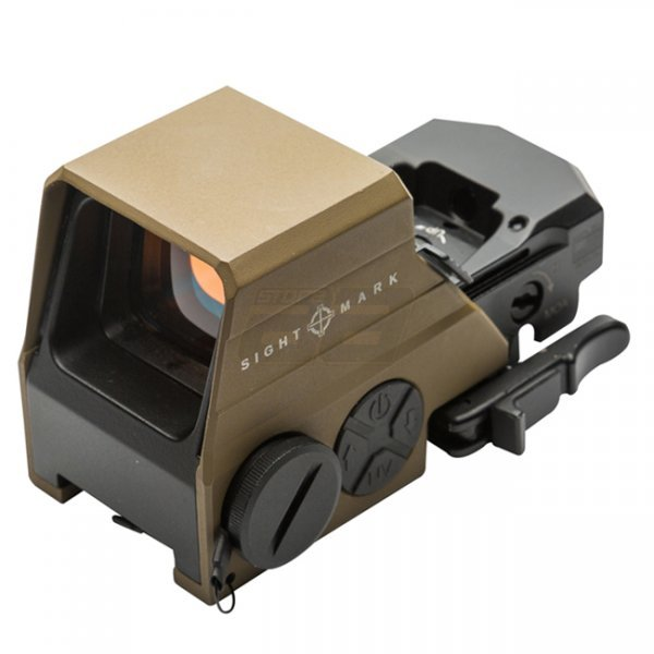 Sightmark Ultra Shot M-Spec LQD Reflex Sight - Dark Earth
