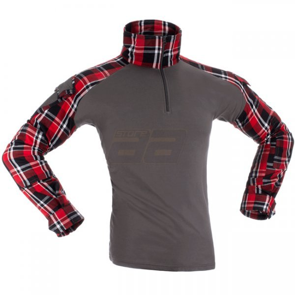 Invader Gear Flannel Combat Shirt - Red