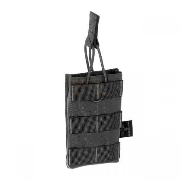 Invader Gear 5.56 Single Direct Action Mag Pouch - Wolf Grey