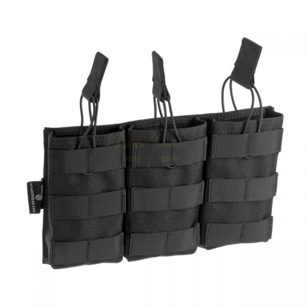 Invader Gear 5.56 Triple Direct Action Mag Pouch - Black