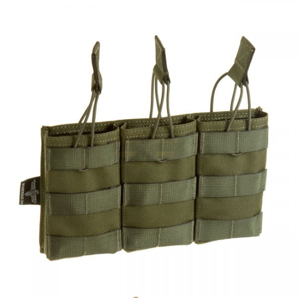Invader Gear 5.56 Triple Direct Action Mag Pouch - OD