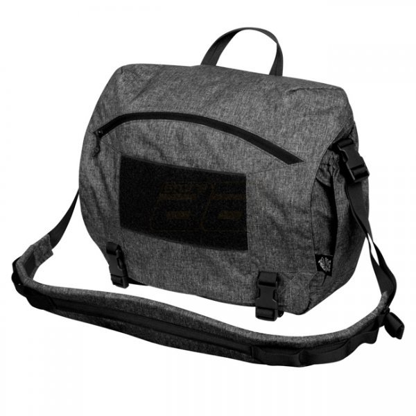 Helikon Urban Courier Bag Large Nylon - Black-Grey Melange