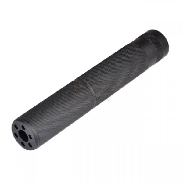 Metal C Type Silencer 195mm - Black