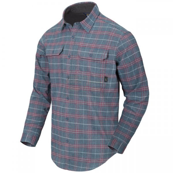 Helikon GreyMan Shirt - Graphite Plaid