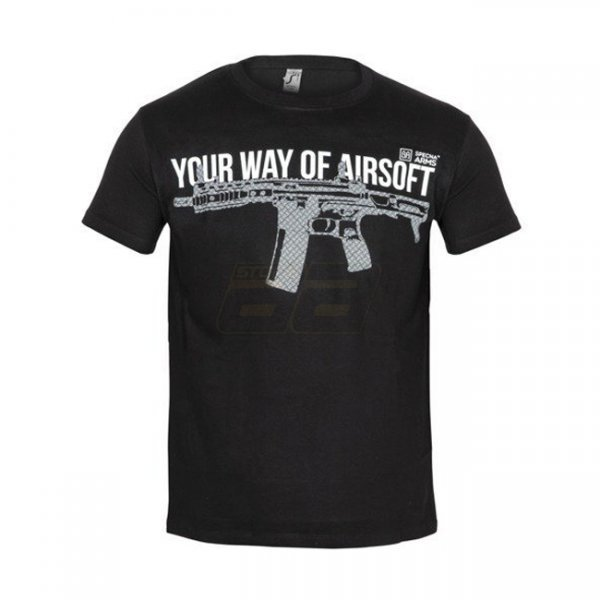 Specna Arms Shirt - Your Way of Airsoft 04 - Black