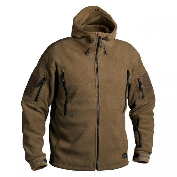 HELIKON Patriot Heavy Fleece Jacket - Coyote