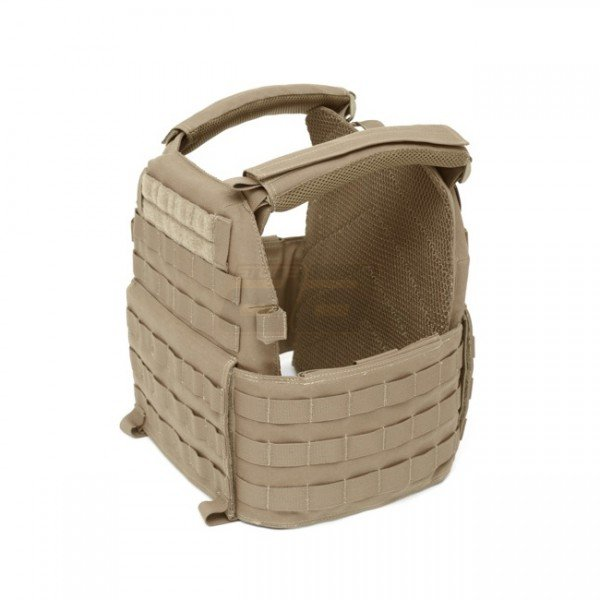 Warrior DCS Plate Carrier Base - Coyote