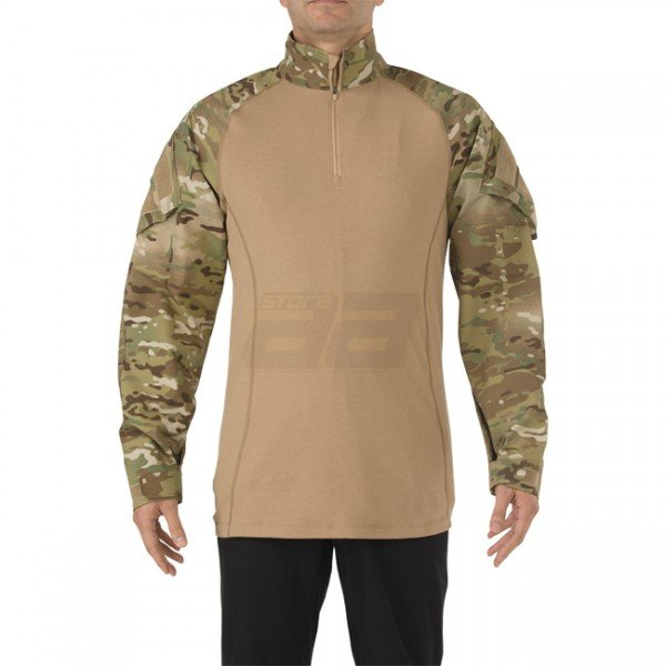 5.11 Rapid Assault Shirt - Multicam TDU