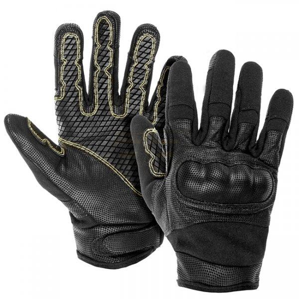 Invader Gear Fast Rope FR Gloves - Black - XL