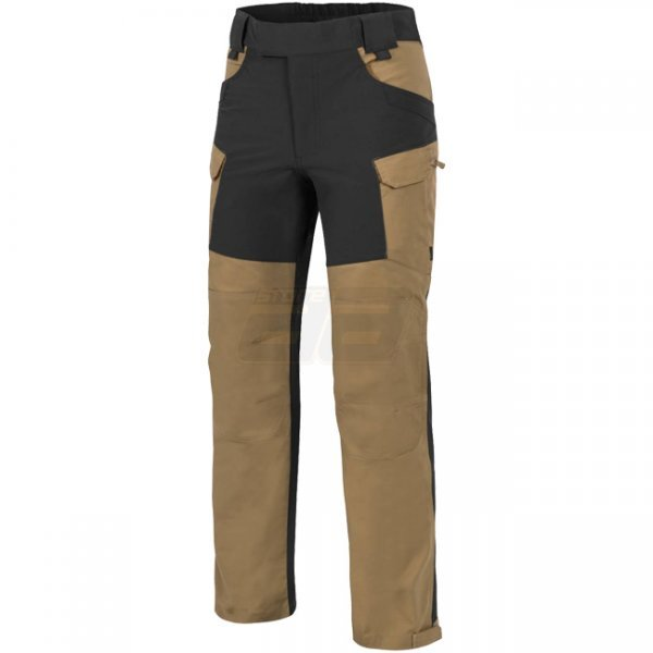 Helikon Hybrid Outback Pants Duracanvas - Coyote / Black - L - Long