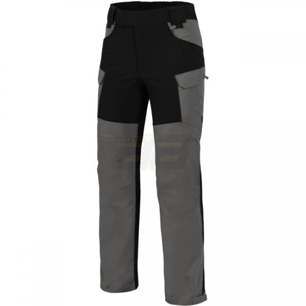 Helikon Hybrid Outback Pants Duracanvas - Cloud Grey / Black A - XS - Short