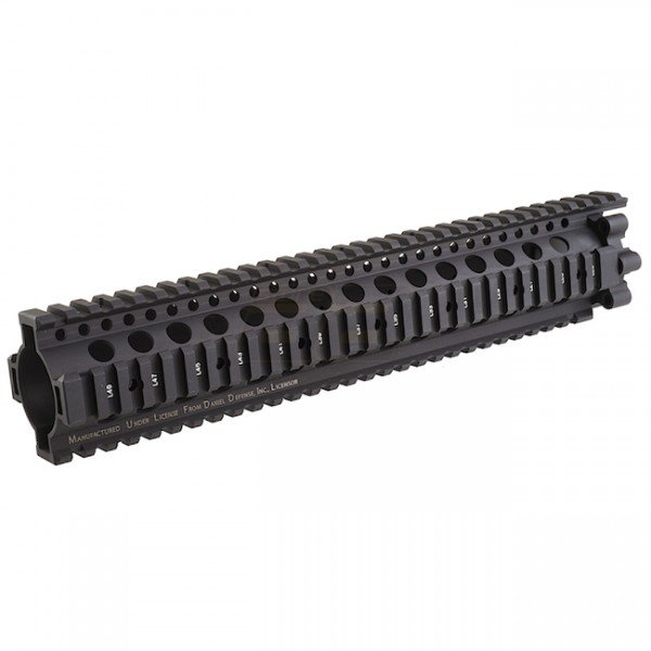 Madbull Daniel Defense 7.62 Lite Rail 12 inch - Black