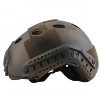Emerson FAST Carbon Style ECO Helmet & Protective Goggle - Custom Camo 1