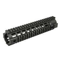 IMI Defense AR15 / M4 Aluminium Freefloat Quad Rail Mid Length - Black