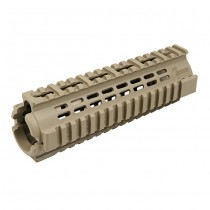 IMI Defense AR15 / M4 PCQ Polymer Carbine Quadrail - Tan