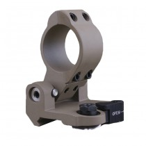 Aim-O QD Pivot Flip to Side Mount - Dark Earth