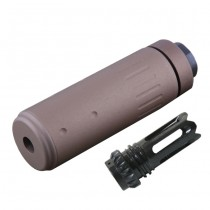 AAC Silencer & Phantom Flashhider CCW - Coyote