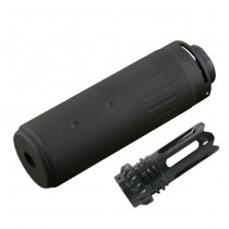 AAC Silencer & Phantom Flashhider CCW - Black