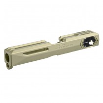 SRU WE G18 SR-18 CNC 7075 Aluminum Slide - Tan