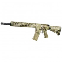 APS ASR115 12.5 Inch Key Mod Match Grade Blowback AEG - Multicam 2