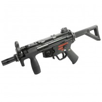 WE Apache PDW Gas Blow Back SMG