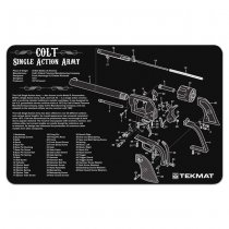 TekMat Cleaning & Repair Mat - Colt Revolver