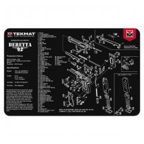 TekMat Cleaning & Repair Mat - Beretta 92