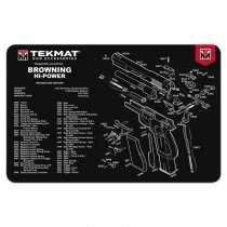 TekMat Cleaning & Repair Mat - Browning Hi Power
