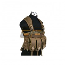 PANTAC Commander V3 Chest Harness - Coyote