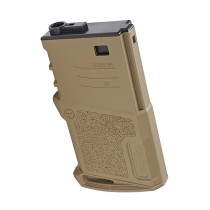 Ares Amoeba M4 120rds Short Magazine - Dark Earth