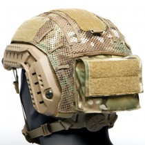 Ops-Core Mesh Helmet Cover Battery Pouch - Multicam 2