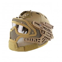 Tactical Mask & Helmet - Coyote 2