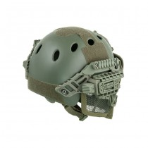 Tactical Mask & Helmet - Olive 1