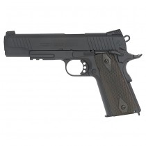 KWC Colt 1911 Rail CO2 Blow Back Pistol - Black