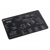 Tekmat Cleaning & Repair Mat - Glock Gen. 4