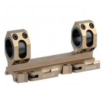 Aim-O Double Ring Scope Mount Standard - Tan