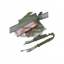 Satellite 3-Point Battery Sling - Olive