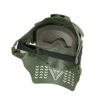 Commander Full Face Mask - Olive 1