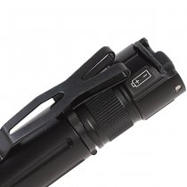 Opsmen FAST 501A High-Output Tactical Bezel Flashlight 1000 Lumen - Black
