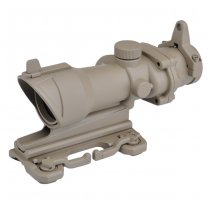 Aim-O ACOG 4x32 QD Mount Scope - Dark Earth